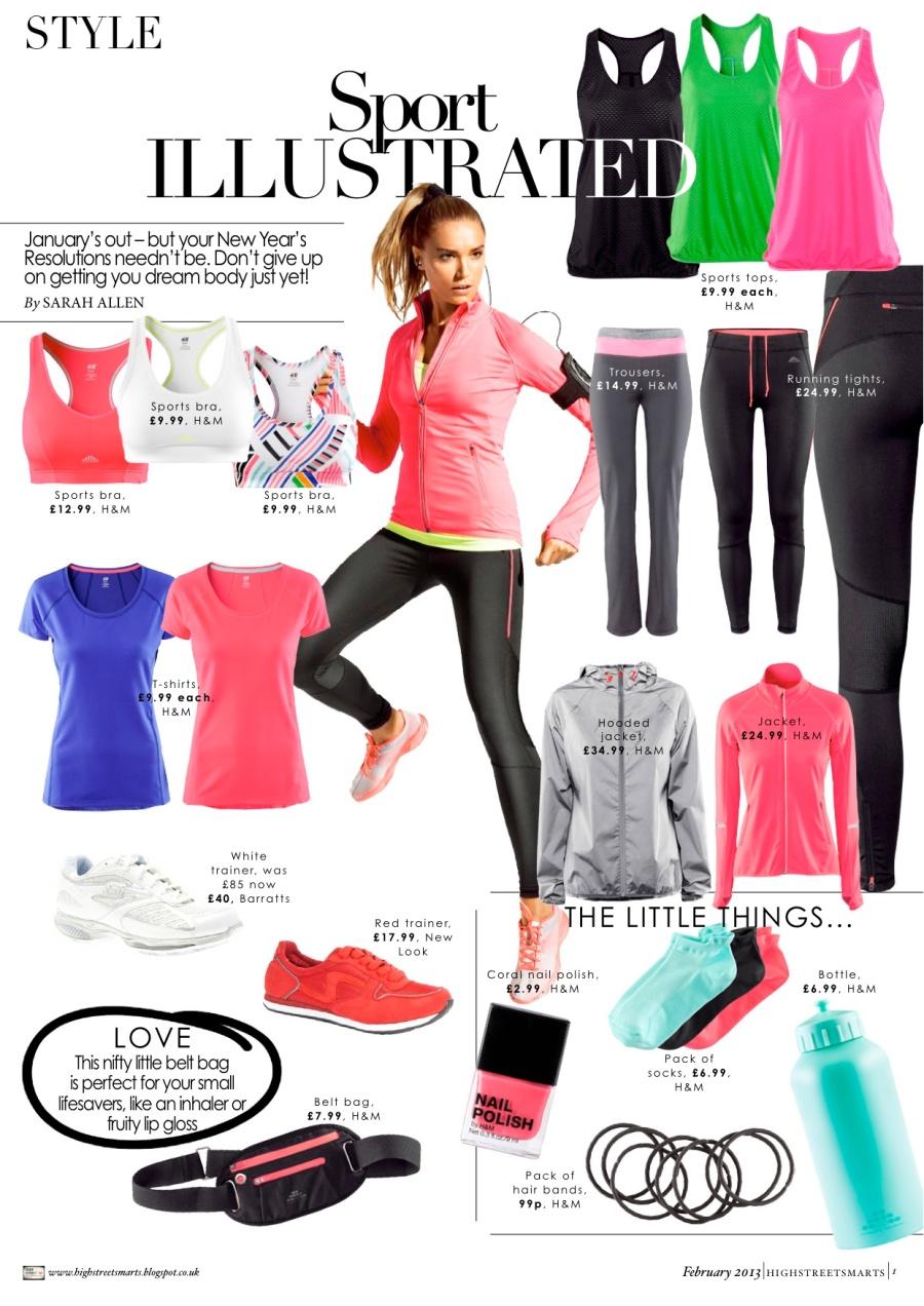 HM Sportswear 2013